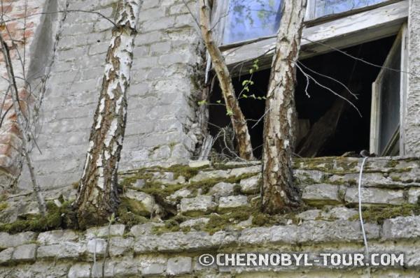 Здание гауптвахты в Чернобыле